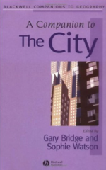 A Companion to the City, copy-edited  by Eldo Barkhuizen